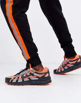 Nike P-6000 trainers in grey/orange CD6404-800