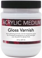 Art Advantage 8-Ounce Acrylic Gloss Varnish
