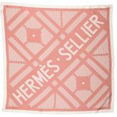 Hermes Sellier Printed Scarf