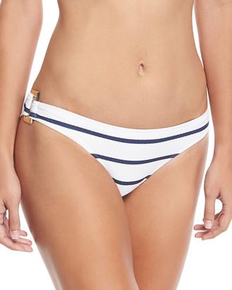 Heidi Klein Core Textured Rectangle Swim Bikini Bottom