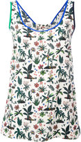 Paul Smith plant print tank top