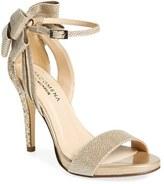 Menbur Women's 'Celosia' Bow Ankle Strap Glitter Sandal