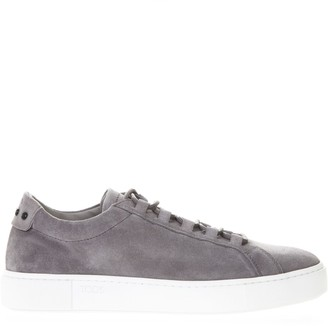 Tod's Tods Sneakers In Grey Suede