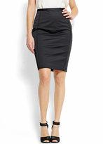 Pencil skirt with a high-waist