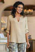 Soft Surroundings Beach Side Gauze Tunic