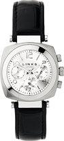 Links Of London Brompton Leather Bracelet Chronograph Watch
