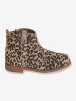 Vertbaudet Girls Suede Boots