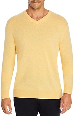 The Men's Store at Bloomingdale's Cashmere V-Neck Sweater - 100% Exclusive