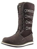 Helly Hansen Hedda Women W Round Toe Leather Brown Winter Boot.