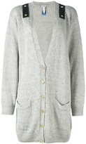 Loewe shoulder strap cardigan - women - Linen/Flax - L