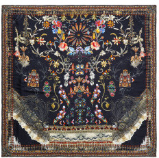 Camilla Dancing In The Dark Large Square Scarf