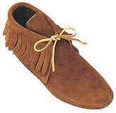Minnetonka Men's Classic Fringe Softsole Boots