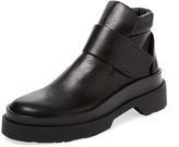 Jil Sander Men's Leather Roper-Toe Boot