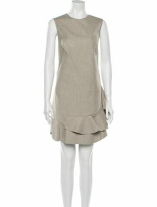 3.1 Phillip Lim Crew Neck Mini Dress White