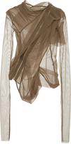 Rick Owens Lilies Sheer Tulle Jacket