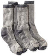 L.L. Bean Cresta Hiking Socks, Midweight Two-Pack