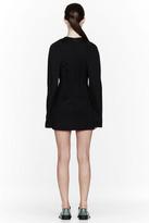 Maison Martin Margiela Black flared sleeve Sweater Dress