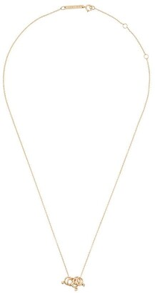 Zoë Chicco 14kt Gold Diamond Rings Chain Necklace