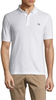 Fred Perry Solid Short Sleeve Piqué Polo