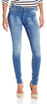 Dittos Women's Jenn Low-Rise Legging Jean In Mid Antique
