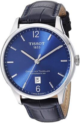 Tissot Mens Chemin Des Tourelles Swiss Automatic Stainless Steel Dress Watch (Model: T0994071604700)