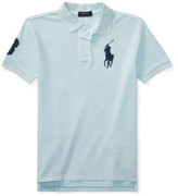 Polo Ralph Lauren Basic Mesh Dyed Ss Kc Top (8-14 Years)