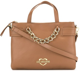 Love Moschino Faux-Leather Tote Bag