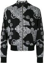 McQ by Alexander McQueen zipped bomber jacket - men - Viscose - 48