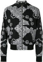 McQ by Alexander McQueen zipped bomber jacket