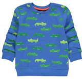 George Crocodile Print Sweatshirt