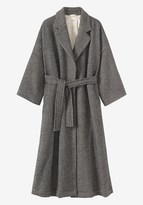 Toast Herringbone Wool/Linen Coat