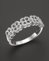 Roberto Coin 18K White Gold Pavé Diamond Ring