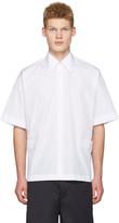 Marni White Velcro Shirt