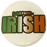 Pas St. Patrick's Day Pin I Wish I Were Irish Party Favor