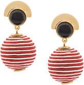 Lizzie Fortunato ball Mara earrings
