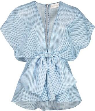 Sachin + Babi Estee wrap blouse