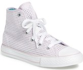 Converse Chuck Taylor ® All Star ® Perforated High Top Sneaker (Toddler, Little Kid & Big Kid)