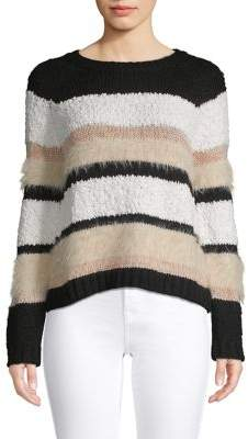 Only Striped Knit Sweater