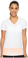 New Balance Classic V-Neck Tee Women's T Shirt