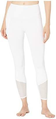 Lorna Jane Kyoto Booty Ankle Biter Leggings (White) Women's Casual Pants