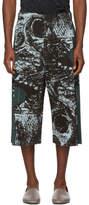 Homme Plisse Issey Miyake Green Mimizuku Shorts