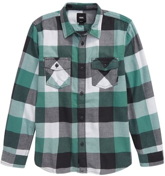 Vans Flannel Shirt (Big Boys)