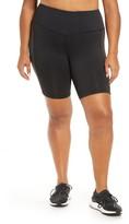 adidas x Universal Standard 3-Stripes High Waist Shorts