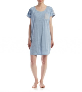 Karen Neuburger Womens Women's Short Sleeve Sleepdress Pajama Pj