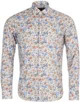 Eden Park Men's Long Sleeved Floral Cotton Shirt