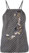 Carven Caraco à Bretelles blouse