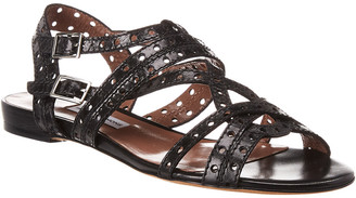 Tabitha Simmons Felicity Perforated Leather Sandal