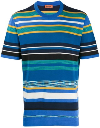 Missoni striped crew neck T-shirt