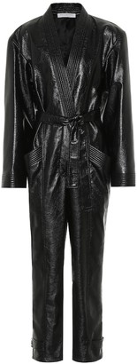 Philosophy di Lorenzo Serafini Faux leather jumpsuit