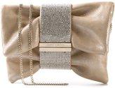 Jimmy Choo Chandra clutch - women - Leather - One Size